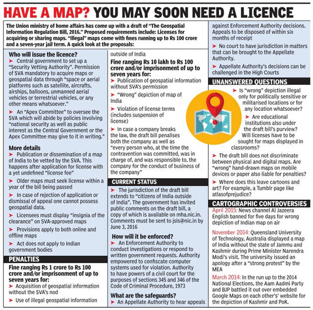 Rs 100 crore fine for faulty maps? Bizarre, say experts