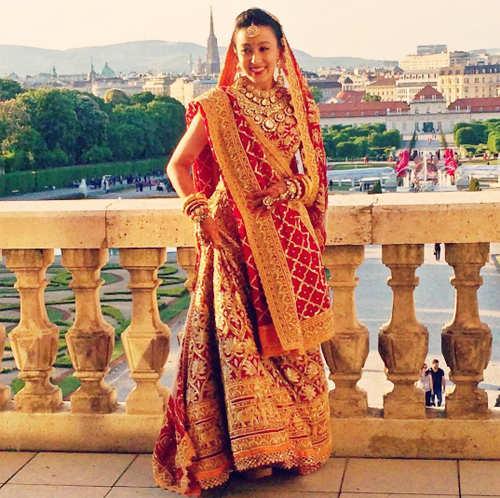 An extravagant affair: Parth Jindal ties the knot with Anushree Jasani in Vienna