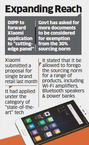 Xiaomi's application for single brand retail put on hold by government