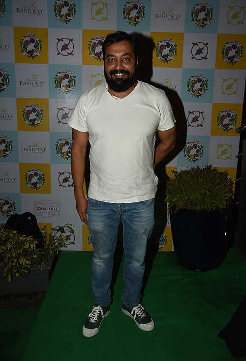 Food to the fore: Restaurant pre-launch party by owners Farhan Azmi and wife Ayesha Takia