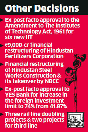 Government approves Capital Goods Policy, aims 21-million new jobs