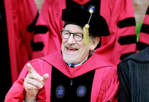 Steven Spielberg to Harvard grads: Be the movie heroes of real life