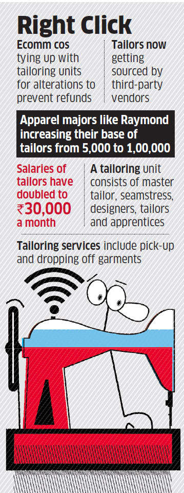 How local tailors are partnering with ecommerce firms like