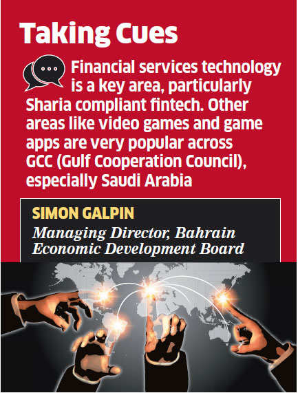 Bahrain wants India to mentor its financial technology & gaming startups