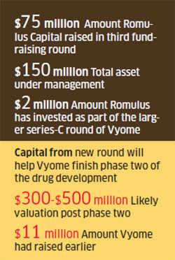 Boston's Romulus Capital picks up Vyome Biosciences in maiden India