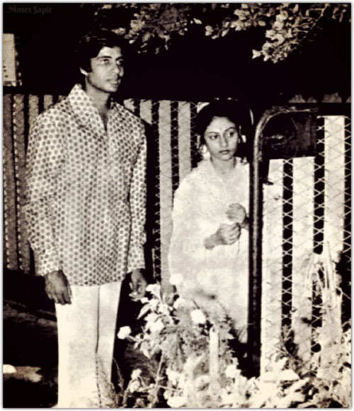 Amitabh & Jaya Bachchan celebrate 43rd wedding anniversary - The ...
