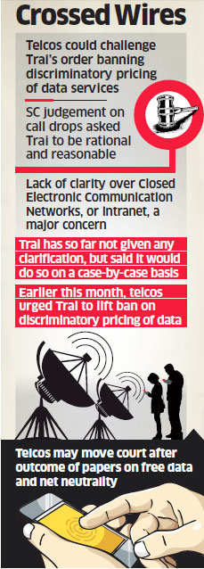 Telcos may take sector regulator to court over ban on discriminatory pricing of data services