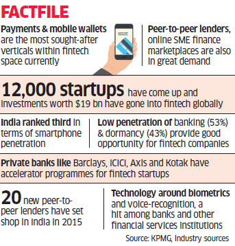 New fintech companies drawing interest from investors and