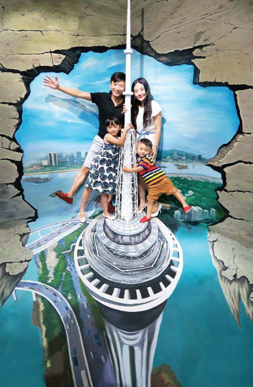 Pier Macau D World Worlds First D Museum With D Paintings - Where is macau in the world