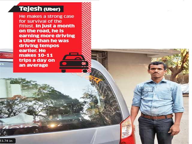 Is job of cab driver in aggregators service like Ola,Uber