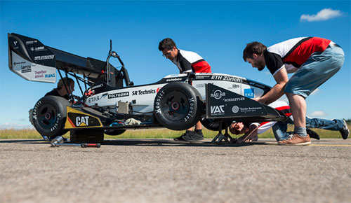 Swiss electric car sets world record by reaching 100 kph in 1.513 seconds