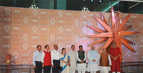 World's largest spinning wheel inaugurated at the Indira Gandhi International Airport