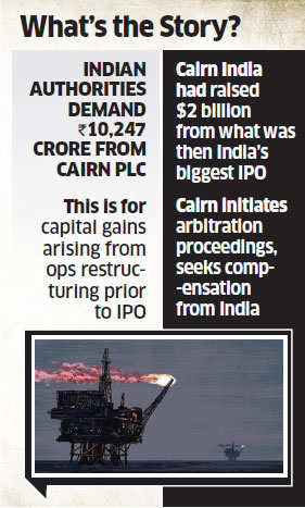 Cairn Energy wants $5.6 billion compensation from India for 'unlawful' tax demand