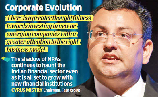 Sustained startup environment has pushed investment, opened new avenues: Cyrus Mistry