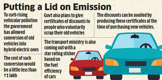 Government to allow conversion of old vehicles into hybrid electric vehicles through retrofitting