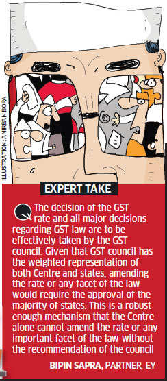 GST Bill: The sticky points and what is possible