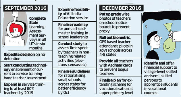 pmo tasked smriti irani with 39 point list for schools the