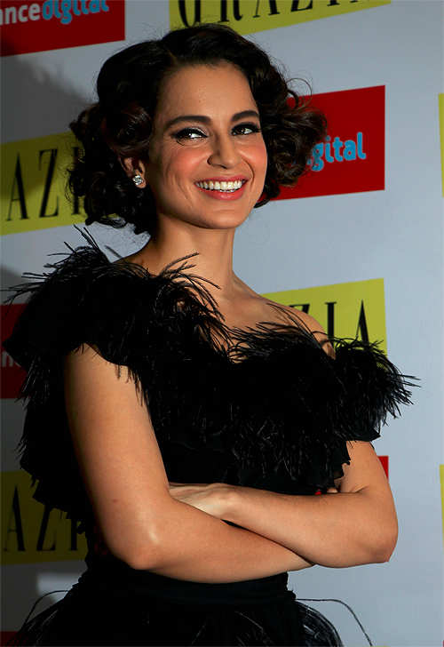 Queen of Bollywood Kangana Ranaut believes in living within a budget