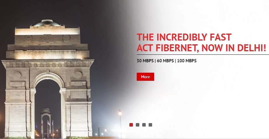 ACT Fibernet launches high-speed broadband services in Delhi
