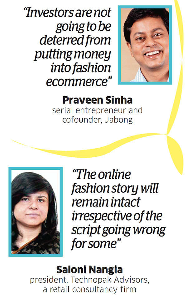 Investors continue to back startups in the online fashion segment