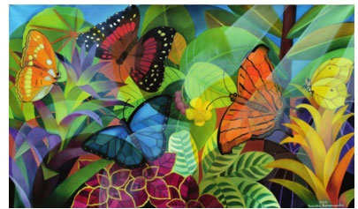 Saving Planet Beautiful: Senaka Senanayake's artistic homage to the rainforest
