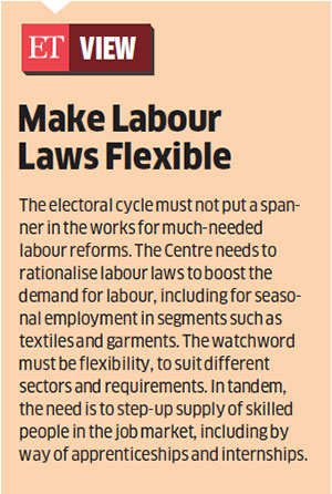 Labour reforms put on hold ahead of state polls
