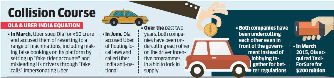 Indian startups need level-playing field after Uber's Chinese unit sold to Didi Chuxing
