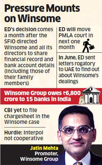Enforcement Directorate to issue non-bailable warrant against Winsome promoter Jatin Mehta