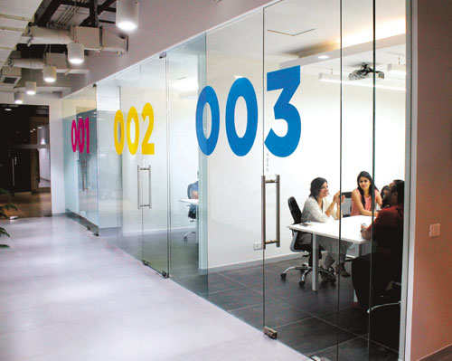 From a glass room to the snooze room cheil indias new office is a