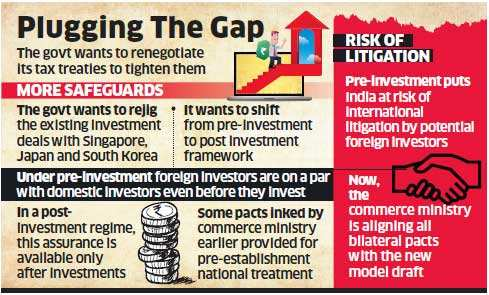 India writes to Singapore, Japan and South Korea to recast investment deals