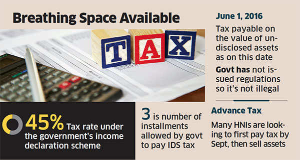 Holding on to assets may reduce IDS tax burden
