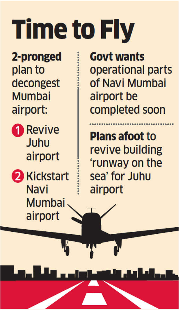 Government sets 2019 as deadline for Navi Mumbai airport