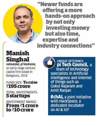 Why are early stage venture capitalists offering much more than startup funding