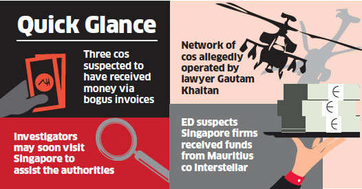 Agusta scam trail now leads to Singapore