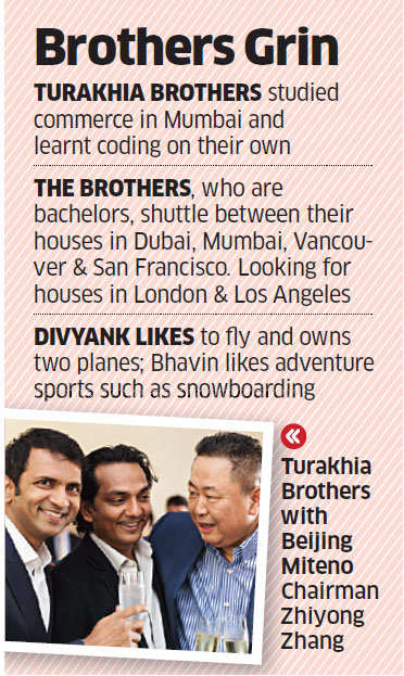 Turakhias: 'The cowboys of the internet' who make millions with little investment