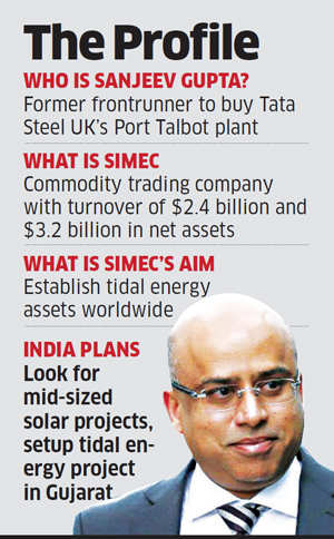 Sanjeev Gupta looking for renewable energy assets in India