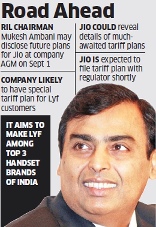 mukesh ambani may disclose jio s future plans at reliance industries