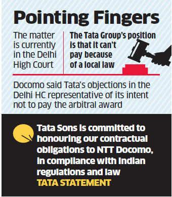 Tata-Docomo dispute: Blame game continues