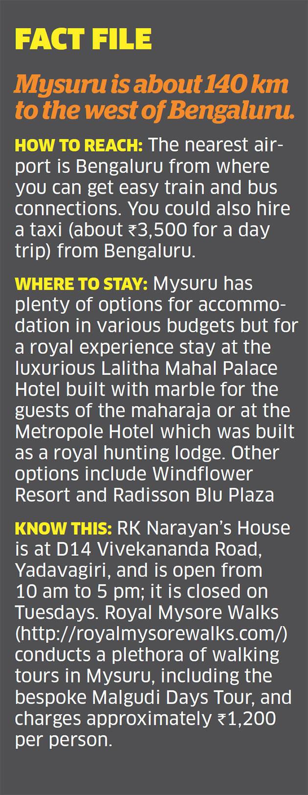 Down memory lane: Walking through RK Narayan's inspiration for 'Malgudi Days'