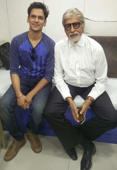Vijay Varma, bad boy of 'Pink', can't get over his dinner with Big B at Jalsa!
