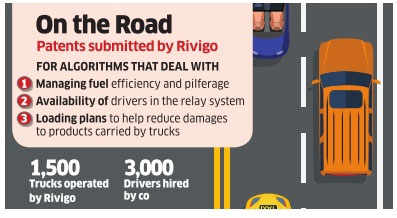With 3 surface transport patents in US, Rivigo takes road less travelled