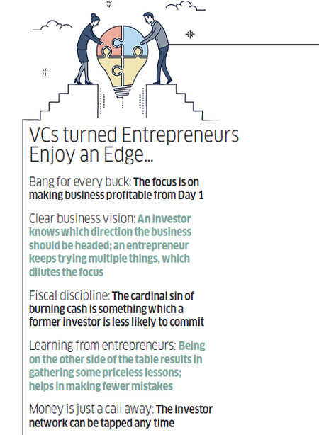 When funders turn founders: What happens when VCs don the entrepreneurial hat