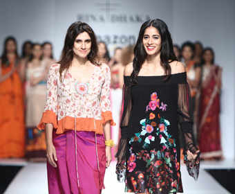 #AmazonIndiaFashionWeek: A saree is still the best source of inspiration for Rina Dhaka