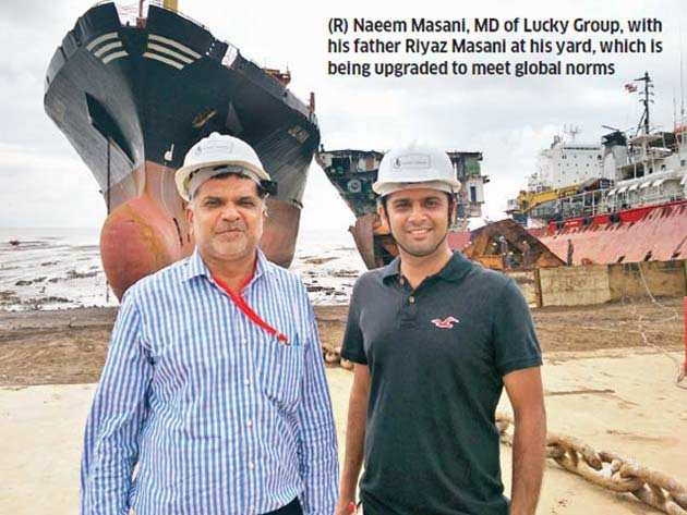 At Alang shipbreaking yard, worker safety remains a dusty dream