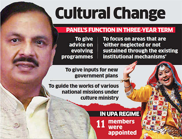 Chaired by Culture Minister Mahesh Sharma, revamped Culture Board now mostly has pro-government members
