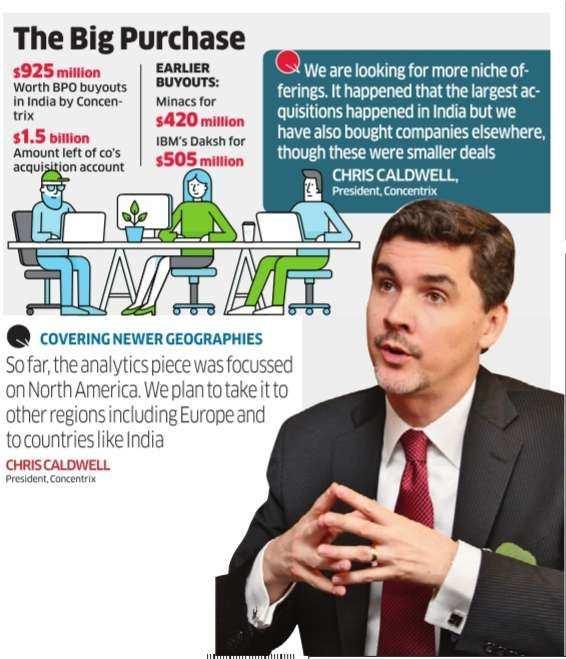 Concentrix ready for a $1 5-billion call here - The Economic