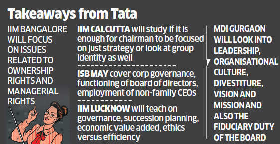 Cyrus Mistry vs Ratan Tata, a valuable lesson for B-school students