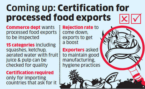 Quality checks for pickles, chutneys before export