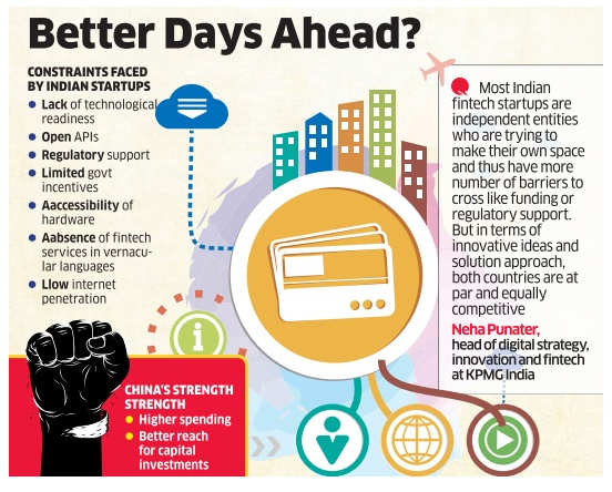 Indian fintech startups a long way off from big global peers