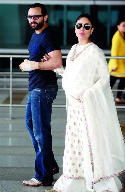 Saif Ali Khan, Kareena Kapoor deny undergoing sex determination test
